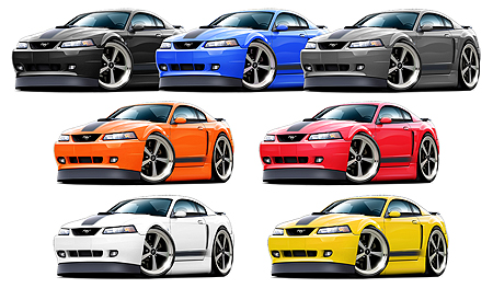 Maddmax Design 2003 04 Ford Mustang Mach 1 Musclecar T