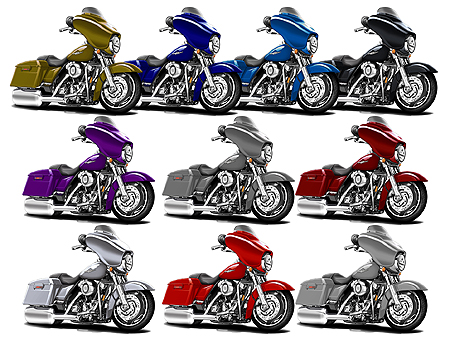 Madd Doggs Harley Street Glide Motorcycle T Shirts Maddmax