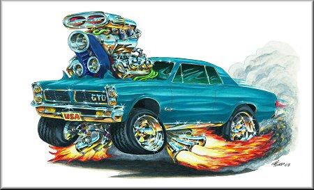 Madd Doggs 1965 Pontiac Gto Muscle Car T Shirts And Apparel Tshirt