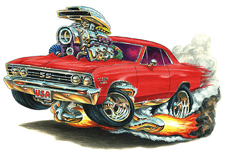 Madd Doggs 1967 Chevrolet Chevelle Ss Muscle Car T Shirts And