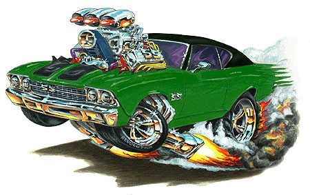 Madd Doggs 1968 69 Chevrolet Chevelle Ss Muscle Car T Shirts And